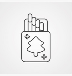 match icon sign symbol vector image