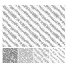 Simple pattern of inclined hatching grunge texture vector