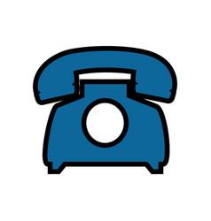 Telephone communication device vector