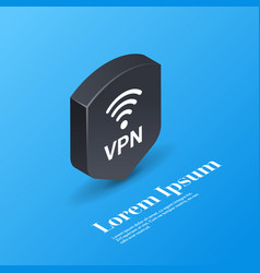 virtual private network web security privacy vector image