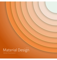 Material Design Abstract Circles Lines vector image