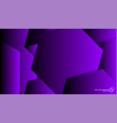 abstract background hexagon purple light and vector image