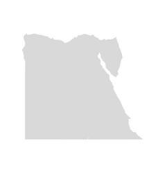 Egypt map sinai cairo world egyptain vector