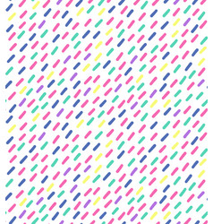 hand drawn seamless pattern in retro vector image