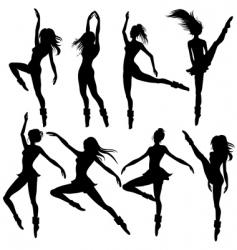 Modern ballet vector