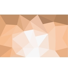 Orange triangle structure abstract background vector image