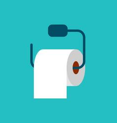 Toilet tissue paper vector