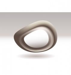 virtual stone icon vector image