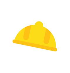 worker helmet symbol vector image