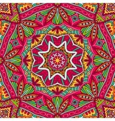 Abstract festive colorful mandala ethnic vector