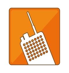 Police radio icon image design vector