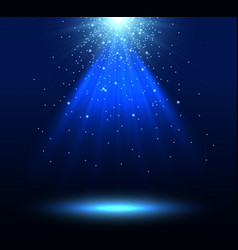 spotlight background vector image vector image