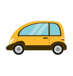 eco car transport image vector image