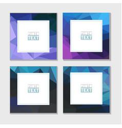 Abstract frames vector
