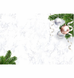 blank christmas background for congratulations vector image