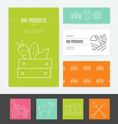 Eco Products Identity vector