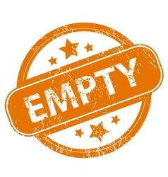 Empty grunge icon vector image vector image