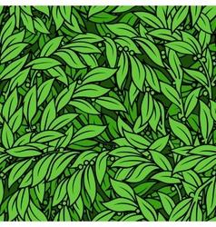 Laurel seamless background vector