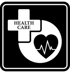 medical concept icon vector image