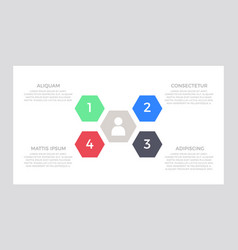 set green and blue red black elements vector image