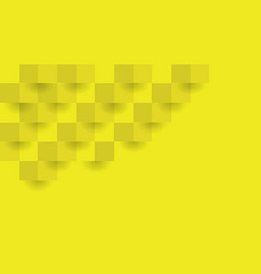 yellow geometric background the can be used in vector image
