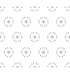 ornamental seamless pattern light floral texture vector image