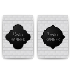 a banner invitations vector image