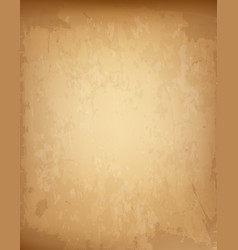 aged paper parchment papyrus with empty copy vector image