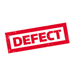 Defect rubber stamp vector