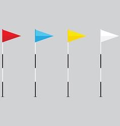 Golf ball set vector image