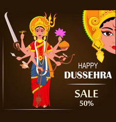 happy dussehra for sale vector image