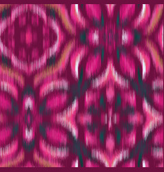 Hippy blurred ornate stylized graphical pink tile vector