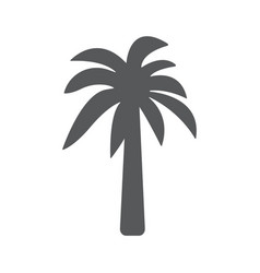 palm icon concept for design vector image