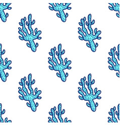 sea animal seamless pattern vector image