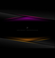 template black geometric triangle overlapping vector image
