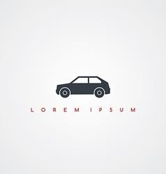 transportation icon sign logotype vector image