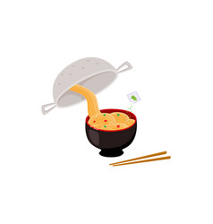 cooking instruction of how to prepare instant vector image