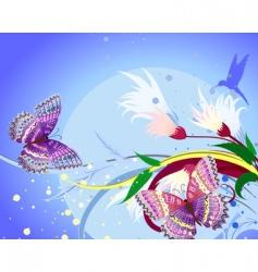 floral fantasy vector image vector image