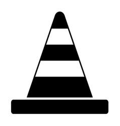 road cone vector image