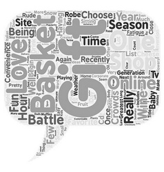 Tis The Season text background wordcloud concept vector image vector image