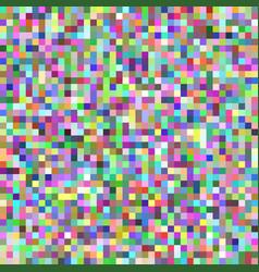 pixel square tile mosaic background - geometric vector image vector image