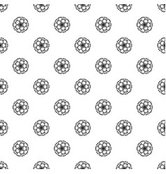 abstract flower pattern seamless vector image
