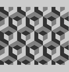 Abstract monochrome pattern with overlapping vector