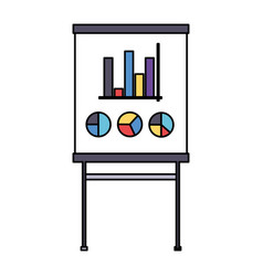board report office supply vector image