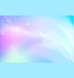 bright sparks blue background vector image