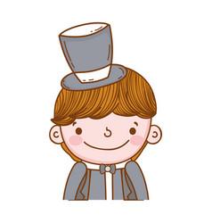 Fiance male cute cartoon vector