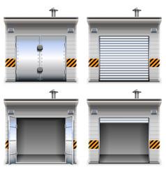 Garages vector