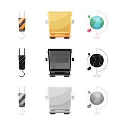 Goods and cargo logo vector