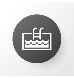 pool icon symbol premium quality isolated vector image
