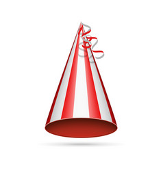 red party hat vector image
